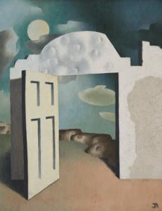 John Armstrong, 'The Open Door' (1930); www.pallant.org.uk