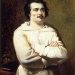 French writer Honoré de Balzac - thinking...